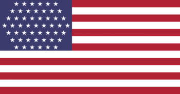 Flag with 51 stars