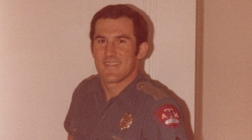 Ragan as a corporal in 1981