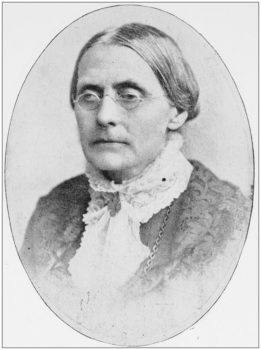 a photograph of Susan B. Anthony