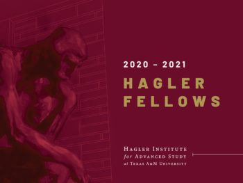 """a graphic that reads """"2020-2021 Hagler Fellows"""""""