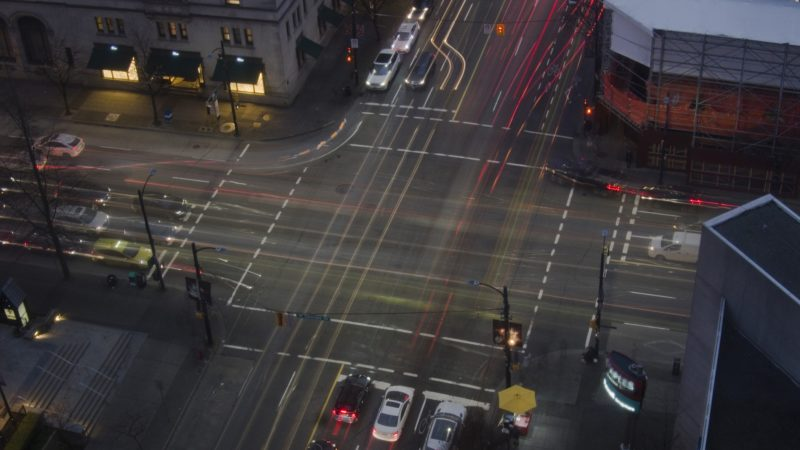 Traffic at Street Intersection