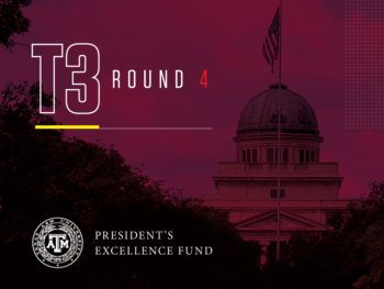 a graphic reading President's Excellence Fund T3 Round 4