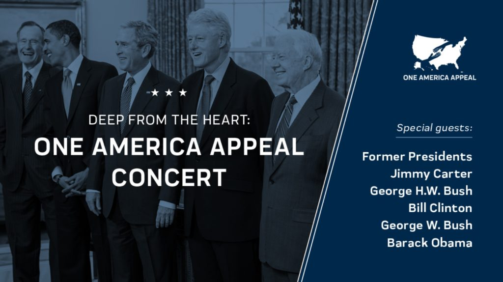 ONE AMERICA APPEAL CONCERT