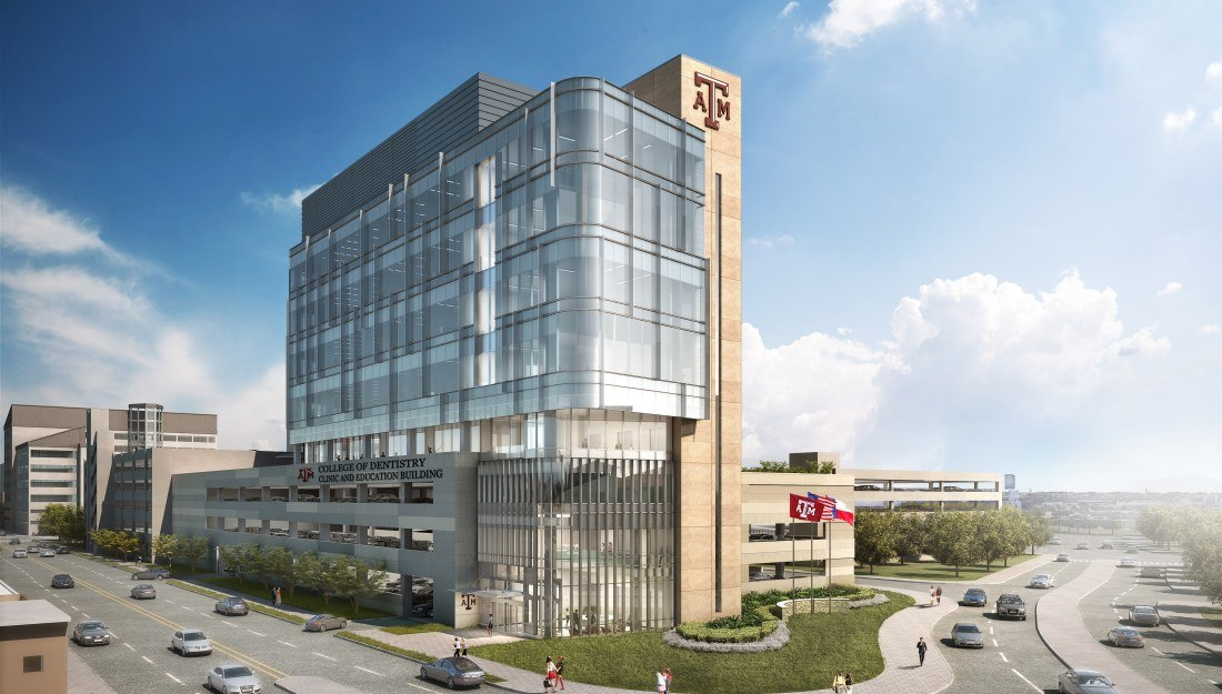 Colleges In Dallas Texas >> Texas A M College Of Dentistry Dedicates Site For New
