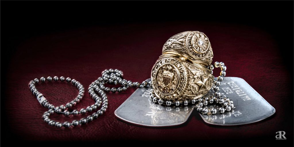 Aggie rings and dog tags